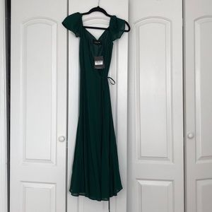 Reformation wrap dress! NEVER WORN!!!